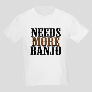 Needs More Banjo Kids Light T-Shirt