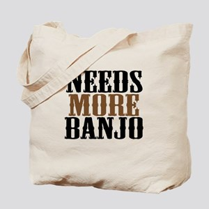 Needs More Banjo Tote Bag