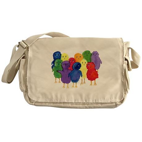 Easter Chicks Messenger Bag