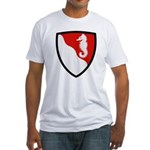 36th Engineer Fitted T-Shirt