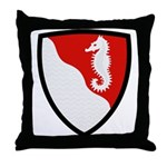 36th Engineer Throw Pillow