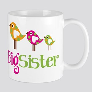Tweet Birds Big Sister Mug