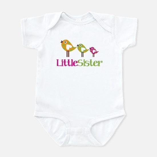 Tweet Birds Little Sister Infant Bodysuit