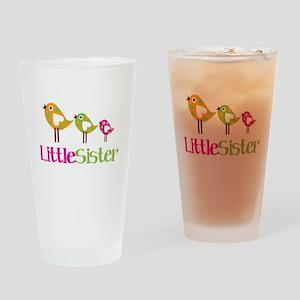 Tweet Birds Little Sister Drinking Glass