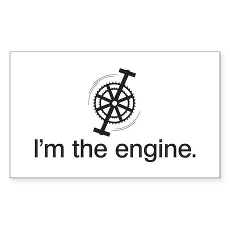 I'm the Engine Sticker (Rectangle)