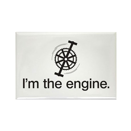 I'm the Engine Rectangle Magnet (100 pack)
