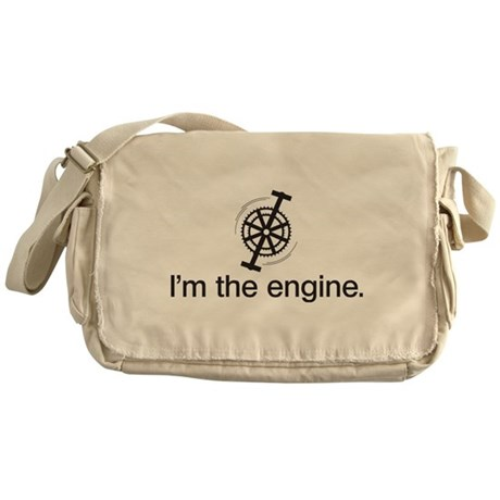 I'm the Engine Messenger Bag