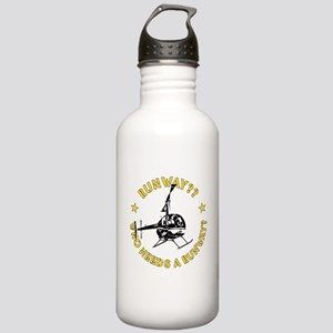 Runway Yellow Stainless Water Bottle 1.0L