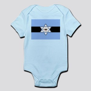 Mossad Flag Infant Bodysuit