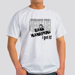 "Personalized ""Back Handspring I Got it"" Light T-Sh"