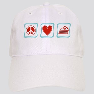 Peace, Love and Pie Cap