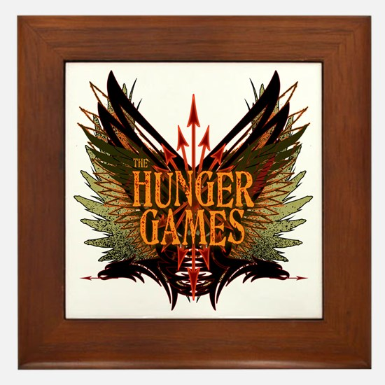Flight of Arrows The Hunger Games Framed Tile