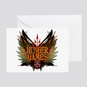 Flight of Arrows The Hunger Games Greeting Card