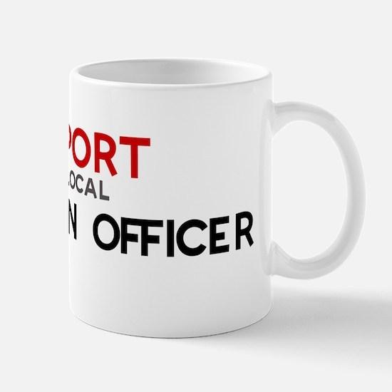 Support:  PROBATION OFFICER Mug