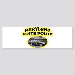 Maryland State Police Sticker (Bumper)