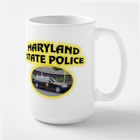 Maryland State Police Large Mug