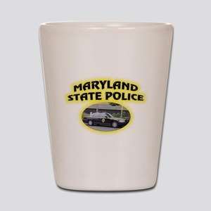 Maryland State Police Shot Glass