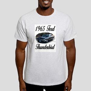 1965 Black Ford Thunderbird Light T-Shirt