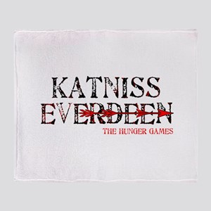 In the Seam Hunger Games Gear Throw Blanket