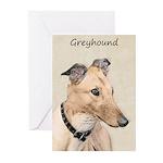 Greyhound Greeting Cards (Pk of 10)