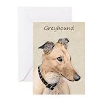 Greyhound Greeting Cards (Pk of 20)