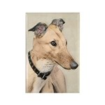 Greyhound Rectangle Magnet (100 pack)