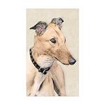 Greyhound Sticker (Rectangle 50 pk)
