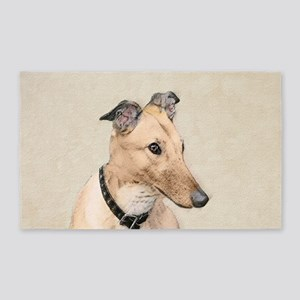 Greyhound Area Rug