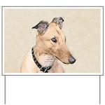 Greyhound Yard Sign