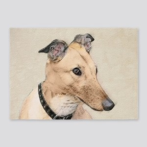 Greyhound 5'x7'Area Rug