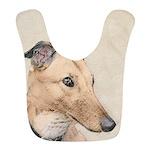 Greyhound Polyester Baby Bib