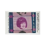 Growing UP Female Rectangle Magnet (10 pack)