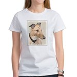 Greyhound Women's Classic White T-Shirt