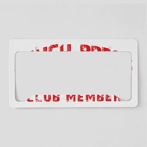 BENCH 315 CLUB License Plate Holder