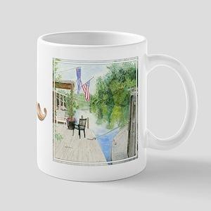 "bkArt ""upstream"" Mug"