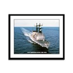 USS MOOSBRUGGER Framed Panel Print
