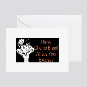 Chemo Brain Greeting Card
