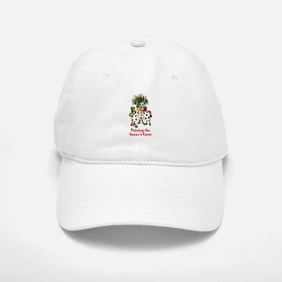 Painting the Queen's Roses Baseball Baseball Cap