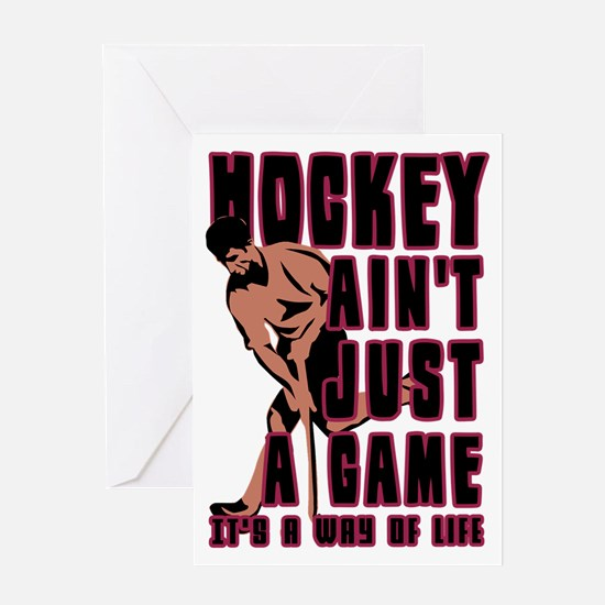 Field Hockey Way Of Life Greeting Card