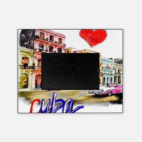 Unique Cubans Picture Frame