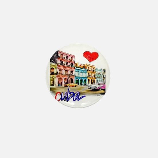 Cute Cuba Mini Button