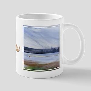 """bkArt """"adrift"""" Mug"""
