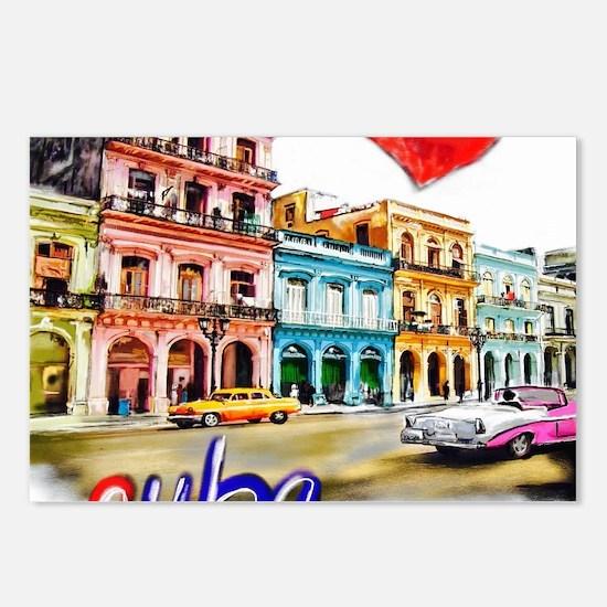 Cute Cuban Postcards (Package of 8)