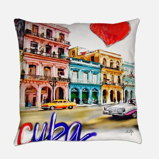 Unique Countries Everyday Pillow
