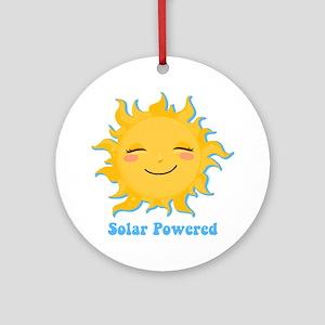 Solar Powered Ornament (Round)