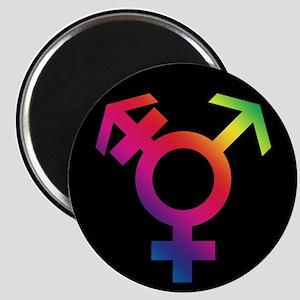Trans Badge Magnet