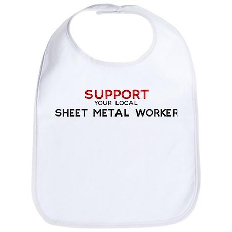 Support: SHEET METAL WORKER Bib