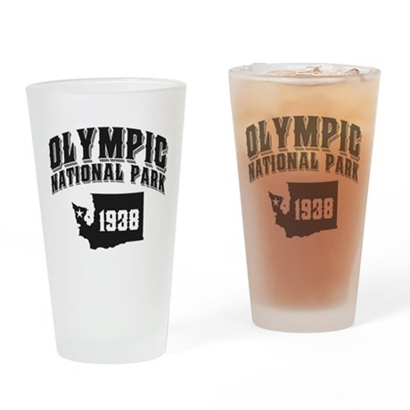 Olympic Natl Park Drinking Glass