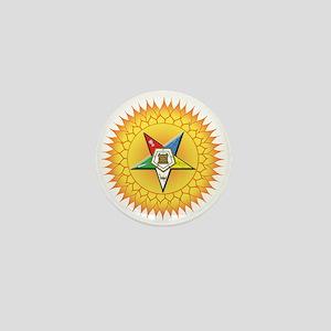 OES Star in the sun Mini Button