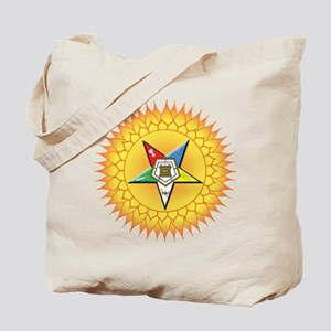 OES Star in the sun Tote Bag